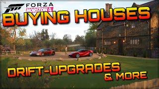 Forza Horizon 4 Gameplay | FULL BREAKDOWN | Houses, New Cars, Race Editor, Drift Parts & more!!