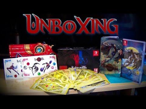 Bayonetta 1+2 Special Edition Unboxing | Nintendo Switch | Edición Coleccionista