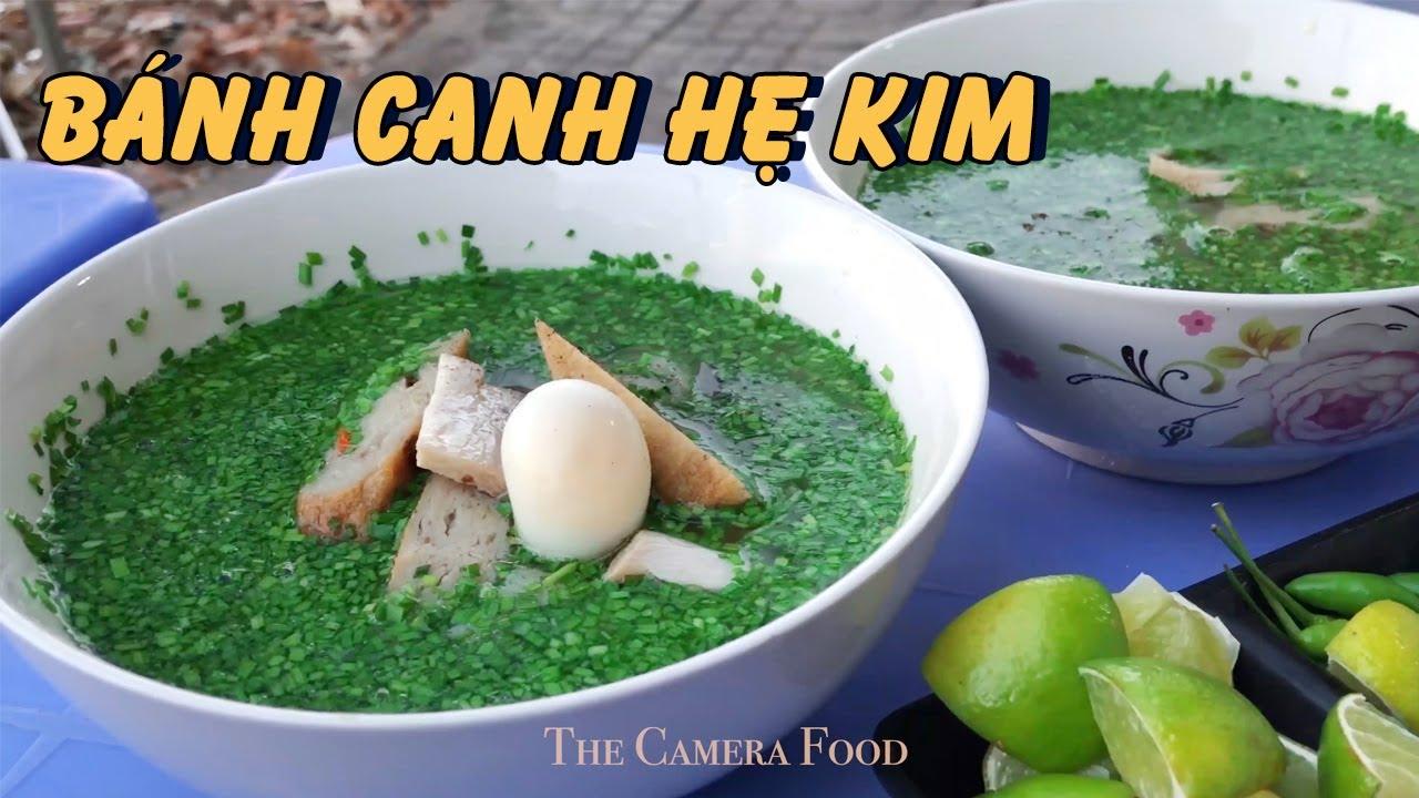 BÁNH CANH HẸ KIM chính gốc Phú Yên bán xuyên đêm | Quán ngon Gò Vấp | The Camera Food