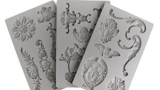 Prima Moulds part 2! How to color & Ink them!