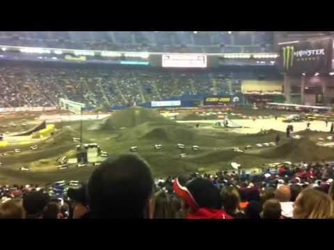 supercross de montreal 2011