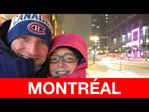 MY MONTRÉAL Vacation - Winter Edition 2016