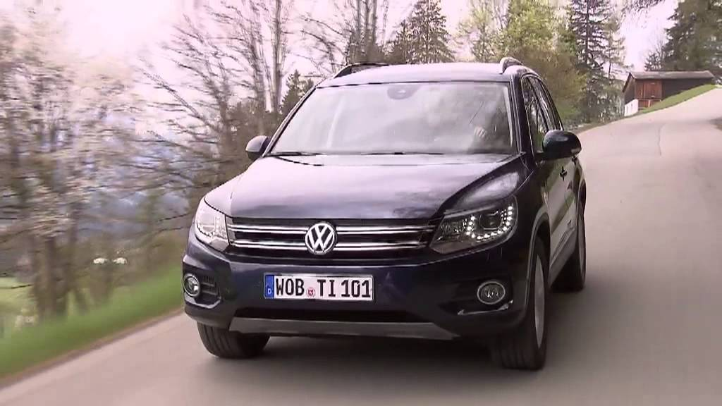 volkswagen tiguan 2012 track and style driving scenes