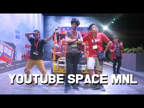 KUMAIN LANG KAMI SA YOUTUBE SPACE MNL OPENING PARTY