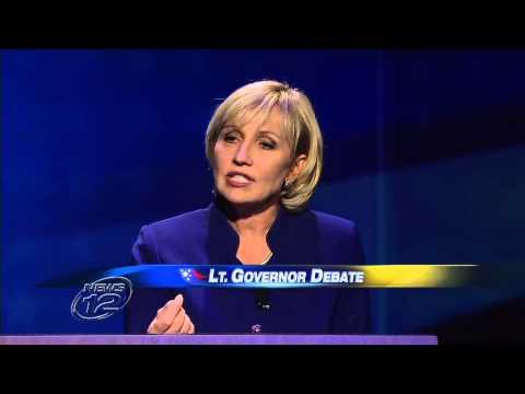 NJ Lieutenant Governor Debate: Kim Guadagno vs Milly Silva 10.11.2013