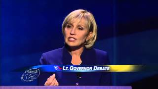 NJ Lieutenant Governor Debate: Kim Guadagno vs Milly Silva 10.11.2013