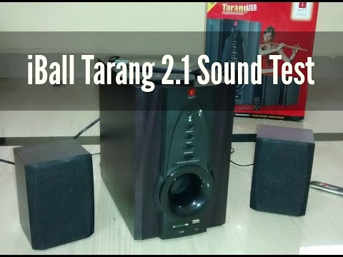 iBall Tarang 2.1 USB / FM Speaker REVIEW / Sound Test | Indian Consumer