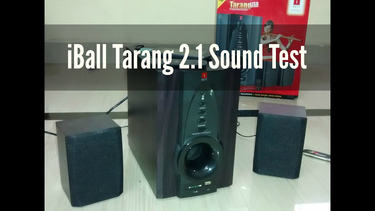 iball tarang 2 1 usb fm speaker review sound test. Black Bedroom Furniture Sets. Home Design Ideas