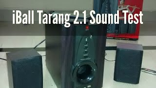 iBall Tarang 2.1 USB / FM Speaker REVIEW / Sound Test | Indian Consumer