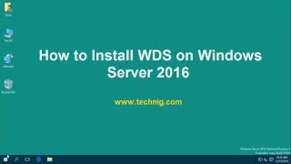 How to Install WDS on Windows Server 2016?