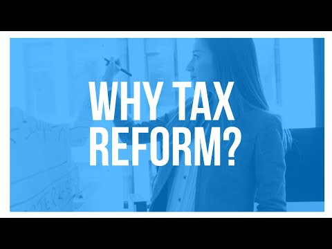 Tax Foundation University 2017: Why Tax Reform? Why Now? Why Not Just Cut Taxes?