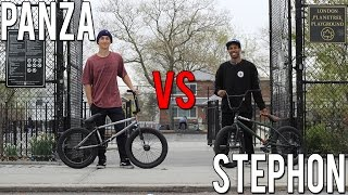 ANTHONY PANZA VS STEPHON FUNG GAME OF BIKE (2017)