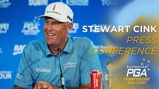 Stewart cink press conference - 2019 australian pga championship