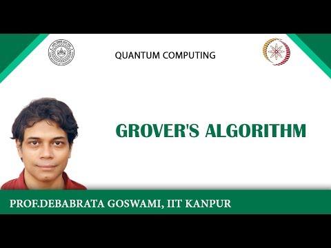 lecture 8 - Grover's Algorithm