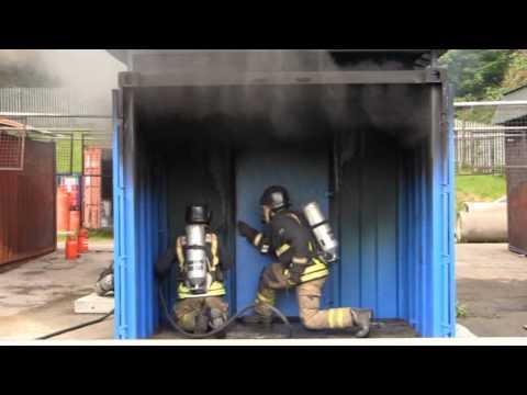 Breathing Apparatus Door Procedures (Hot Fire)