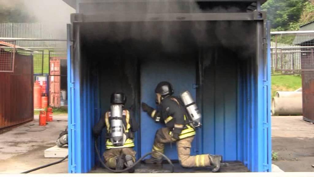 Breathing Apparatus Door Procedures Hot Fire Youtube