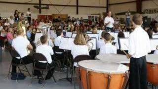 Whitewater Middle School Band, Patriot Day Peachtree City
