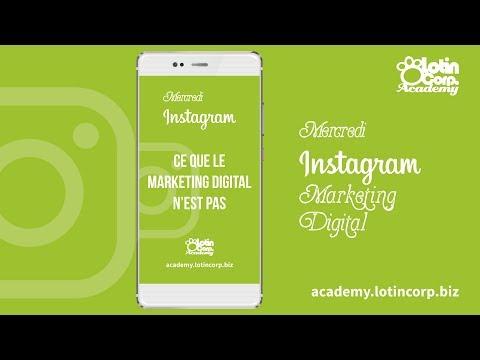 #WeekInsta - Mercredi 15.08.18 : C'est quoi le marketing digital ?