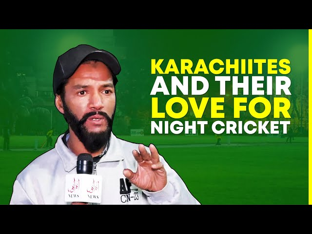 Karachiites And Their Love For Night Cricket
