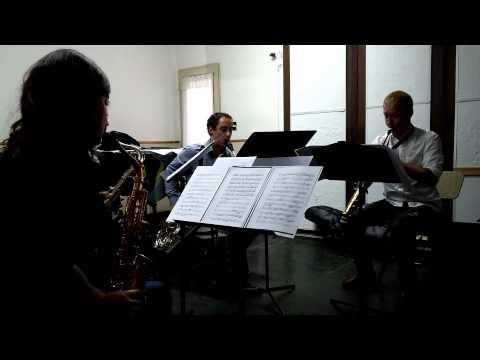 Cuarteto de Saxofones Romairone, Domínguez, Novikov y Barri - Conservatorio Ginastera