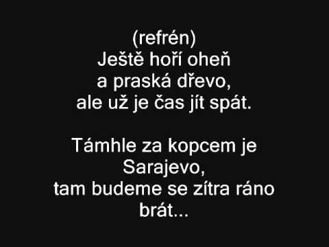 Jaromír Nohavica - Sarajevo text