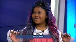 16-Year-Old Chicago Rapper Nia Kay Performs 'Action'