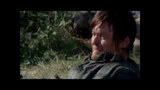 "The Walking Dead-Carol and Daryl-""Baby, I Love You"""