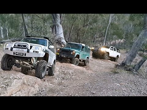 4x4 & Trackside Repair @ Jackass Hill a.k.a. Bastard Hill