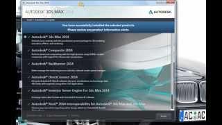 Урок 2 из 3. Скачивание и установка AutoCAD или 3ds max