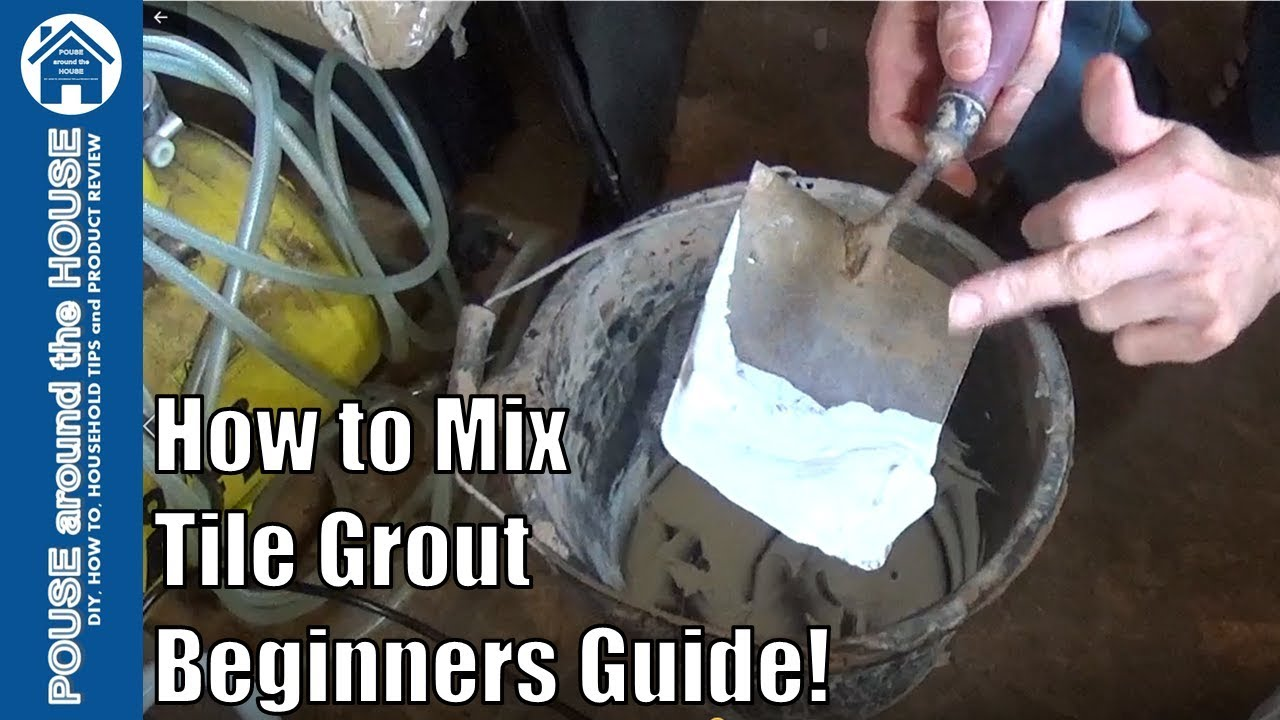 How to mix tile grout mixing grout made easy for beginners youtube how to mix tile grout mixing grout made easy for beginners dailygadgetfo Choice Image