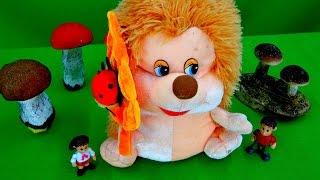 Машины сказки. Логопедические занятия. Маленький Ёжик - Рассказ о грибах. Видео для детей.(Развивающее видео для детей - Машины сказки. Логопедические занятия. Продолжаем наши веселые и интересные..., 2015-05-13T06:57:56.000Z)