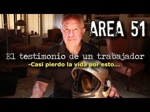 Este hombre revela su trabajo en el AREA 51