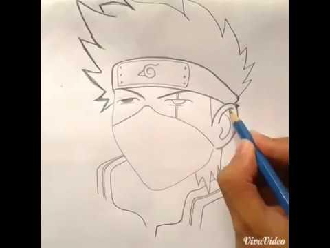 Cara Menggambar Kakashi Hatake Youtube