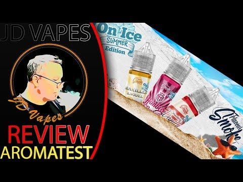 Flavour Smoke Sommer Edition On Ice I JD AROMA LIQUID REVIEW