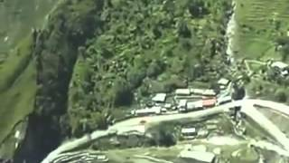 Uttarakhand Flood 2013 - Helicopter View of Dharchula Pithoragarh