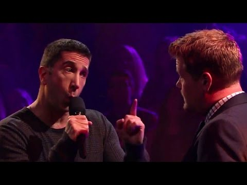 Rebel Wilson Destroys David Schwimmer and James Corden in Epic Rap Battle
