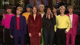 [VIETSUB] 190412 Emma Stone and Cecily Strong Are Freaking Out About BTS - SNL (Saturday Night Live)
