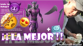 COMPRO SKIN *CUPIDO OSCURO* (DEMONIO) FORTNITE BATTLE ROYALE