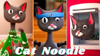 10 min. Cat Noodle  Cute and Funny Animation from TikTok (@noodle_and_bun)