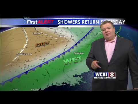 Friday Weather Update with Meteorologist Alex Puckett