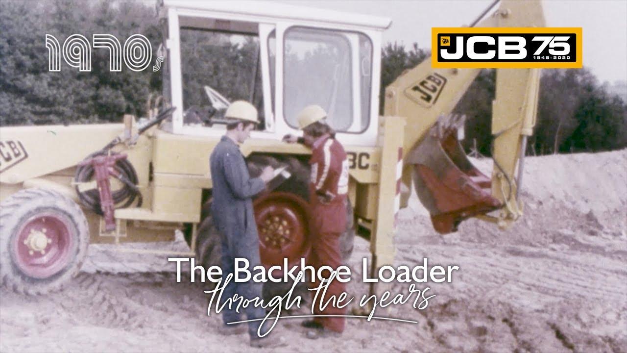 History of the JCB Backhoe Loader - 1970s