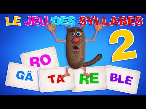 Foufou - Le Jeu Des Syllabes (The Syllables Game for Kids)  Serie 02 4k