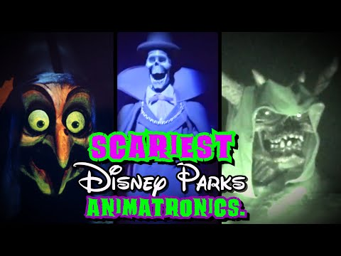 Top 5 Disney's Scariest Animatronics