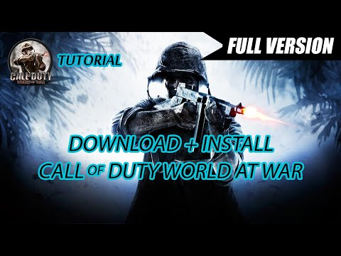 Cara Download Game PC Call Of Duty World At War Full Version + Install