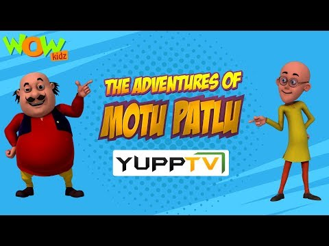WowKidz now also on Yupp TV | Motu Patlu | Promo thumbnail