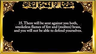 islamic videos 055 surah ar rahman the most gracious by saad al ghamdi