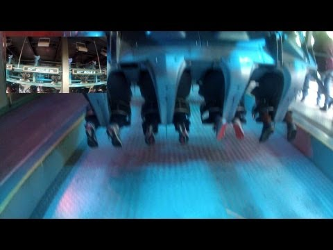 Air - Roller Coaster - On Ride - Alton Towers - (HD)