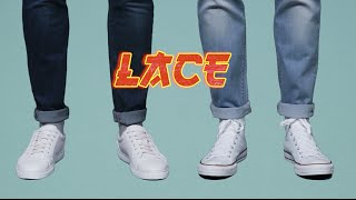 How to lace trainers 2 ways - interactive video | ASOS Menswear tutorial