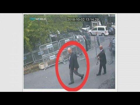 شاهد: صور جديدة لخاشقجي وخطيبته قبل دخوله القنصلية السعودية في إسطنبول…  - نشر قبل 3 ساعة