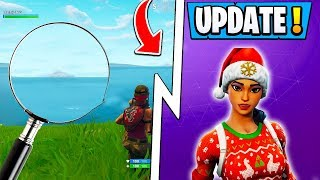 *NEW* Fortnite Update! | Snow Storm Confirmed, OG Skin Change, Map!